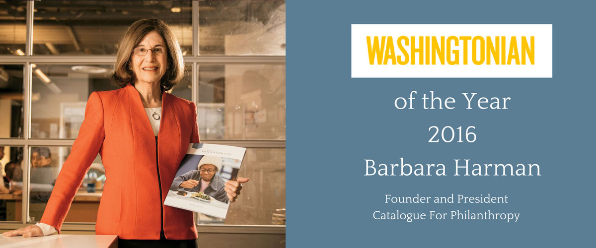 Barbara Harman: Washingtonian of the Year!